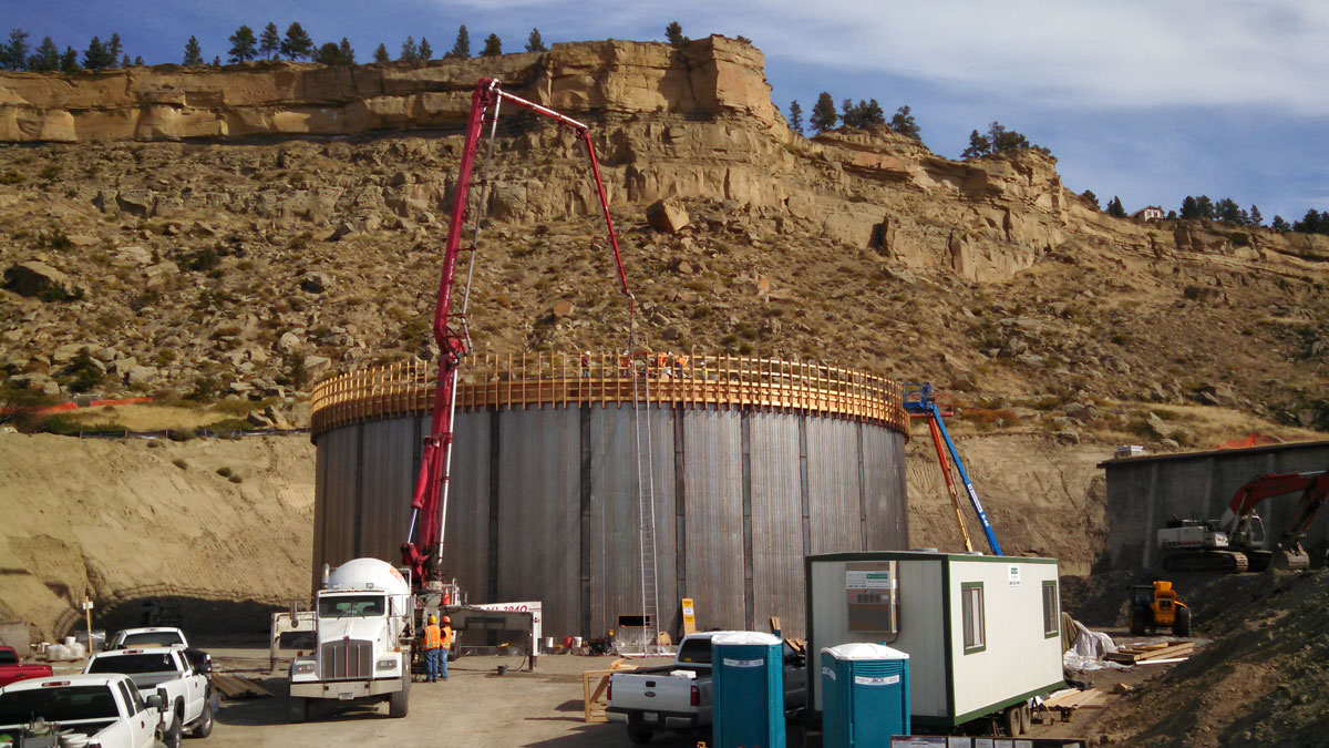 2 Million Gallon Water Tank « SK Geotechnical