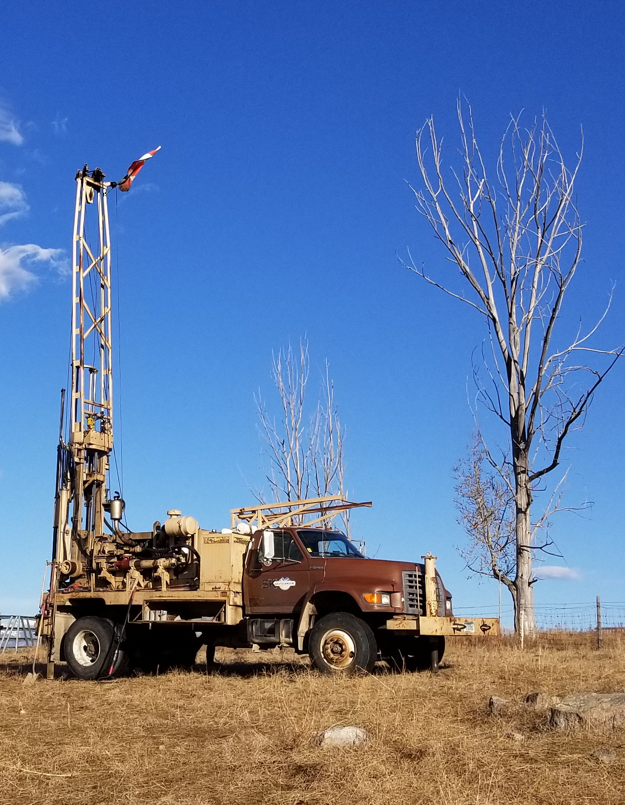 CME 75HT Drill rig Montana